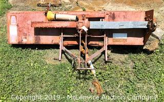 Rotomec 3 Point PTO Drive 5 Foot Tiller