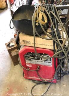 Lincoln Electric AC/DC Arc Welder and Accessories
