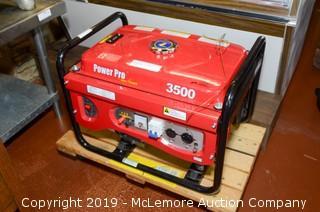 Power Pro 3500 Watt Generator