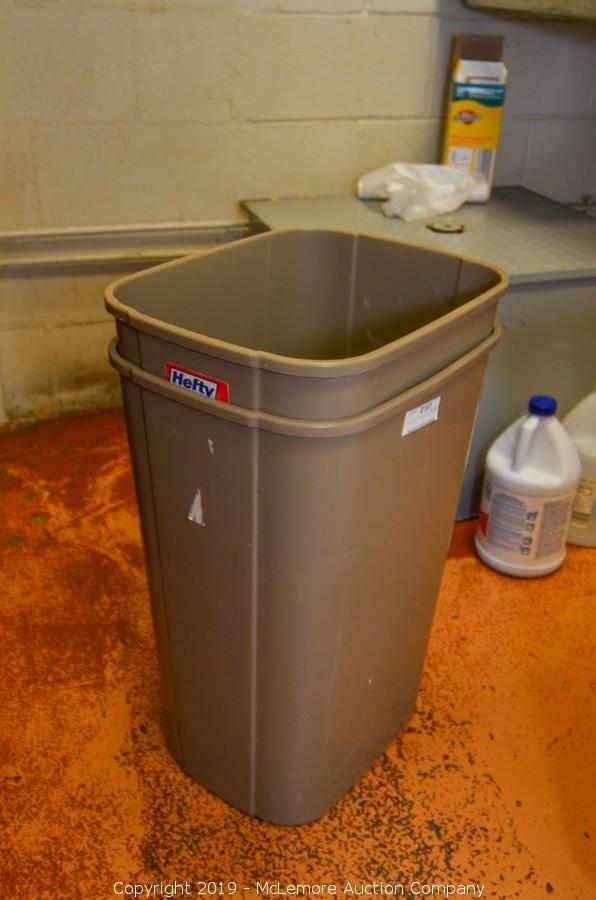 mclemore auction company auction liquidation of lazzaroli pasta item 2 hefty trash cans mclemore auction company