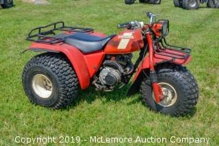 1983 Honda 250 All Terrain Cycle
