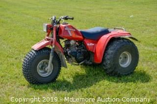 1984 Honda 200M All Terrain Cycle
