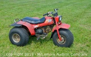 1985 Honda 125 All Terrain Cycle