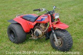 1984 Honda 200S All Terrain Cycle