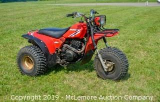 1985 Honda 250 SX All Terrain Cycle