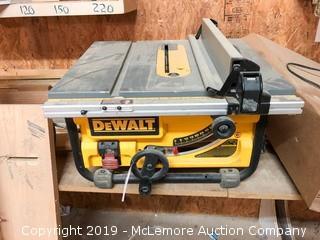 """Dewalt 10"""" Portable Table Saw DW745"""