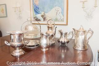 Assortment of Silver-Plate Items