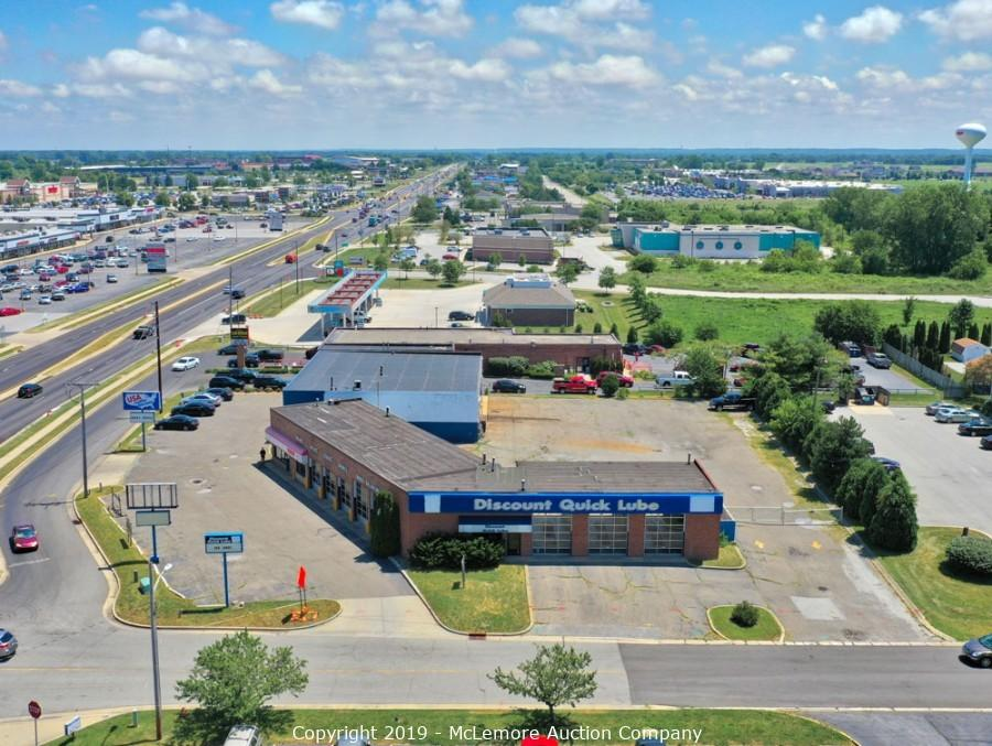 11,732± sf Commercial Buildings on 1.05± Acres in Portage, IN