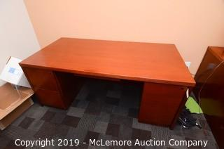 Wood Office Desk
