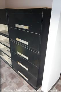 Five Drawer Lateral File Filing Cabinet