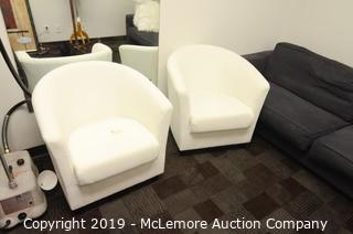 (x2) Upholstered Chairs