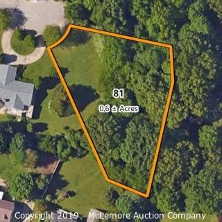 .6± Acre Building Lot Located at 2510 Overlook Circle