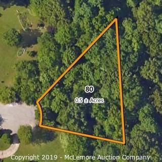 .5± Acre Building Lot Located at 2509 Overlook Circle