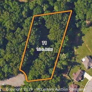 1.2± Acre Building Lot Located at 2507 Forest Glen Circle