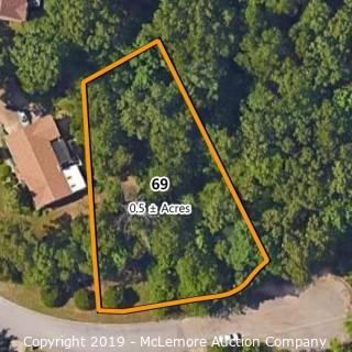 .5± Acre Building Lot Located at 2503 Forest Glen Circle