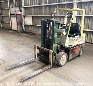 Nissan KCPH02A20PU Propane Forklift