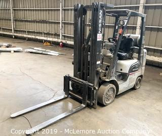 Nissan MCP1F2A24LV Propane Forklift with 3 Stage Mast