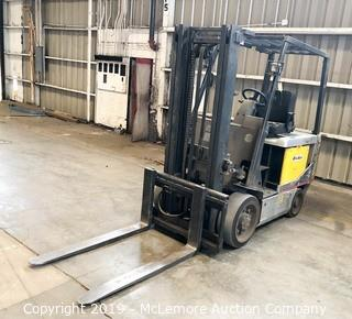 Nissan CP1B2L30S Electric 36Volt Forklift with Charger