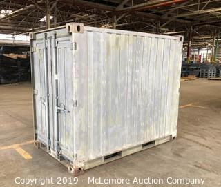 Conex Dual End Tool Storage Container with Stanley Vidmar Cabinets