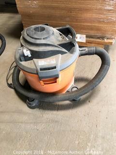 Ridgid 12 Gallon Shop Vacuum on Casters