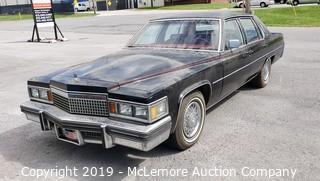 1979 Cadillac De Ville Sedan