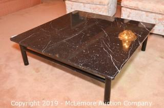 Granite Top Coffee Table