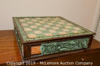 Mayan Themed Chess Board