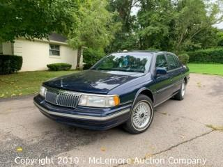 1993 Lincoln Continental with a 3.8L V6 OHV 12V Engine
