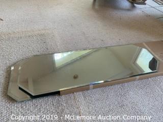 (2) Mirrored Centerpiece Mats