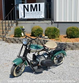 Early 50's Cushman Scooter