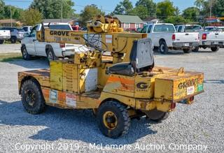 Compact Crane Truck by Grove