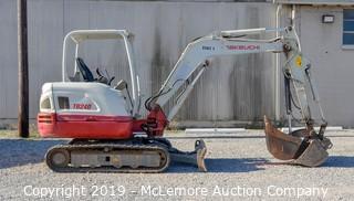 Takeuchi TB240 Mini Excavator