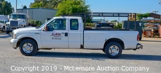 2007 Ford F250 Extended Cab