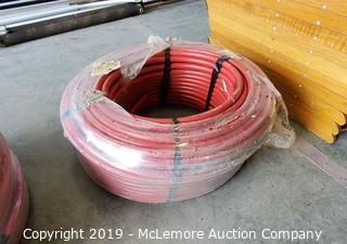 New Unopened Bundle of Red Pex Tubing