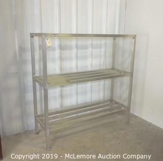 New Age Aluminum Shelves