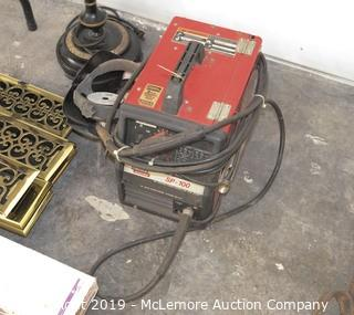Lincoln Electric SP-100 Arc Welder with Mask and Wire