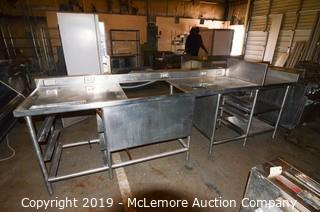 Stainless Steel Powered Prep Table