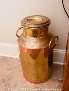 Copper Milk Jug