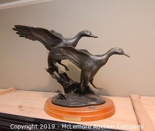 "National Wild Turkey Federation ""Final Landing"" Mallard Duck Sculpture"