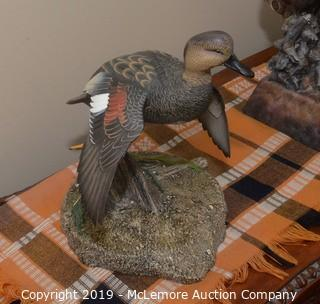 Limited Edition Ducks Unlimited Duck Statue