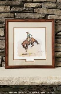 "Frederic Remington ""A Sun Fisher"" Framed Print"