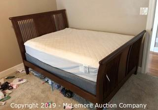 Wooden Full Size Bed Frame