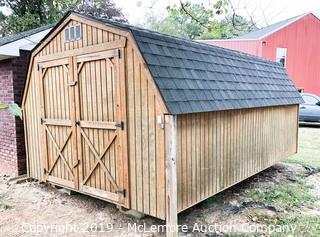 Wooden 10' x 16' Storage Shed