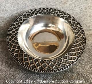 Wilton Armetale Hand Crafted in Pennsylvania Metal Bowl