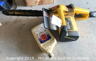McCulloch EM250 Electric Chain Saw