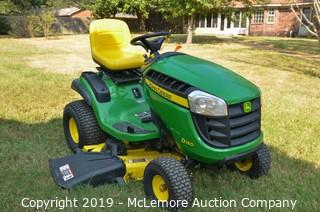 "John Deere D140 48"" Riding Mower"