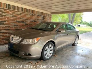 2011 Buick Lacrosse CXS with 3.6L V6 DOHC 24V Engine