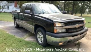 2003 Chevy Silverado 1500 with 5.3L V8 OHV 16V Engine