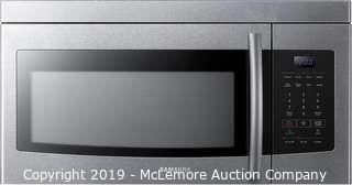 "Samsung 30"" Over The Range Microwave"
