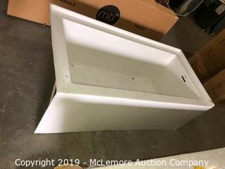 Jacuzzi Brand Slide In Fiberglass Tub